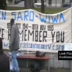 Kundgebung in Gedenken an Ken Saro-Wiwa