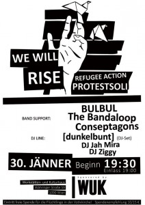 We Will Rise: Soliparty, 30.1.