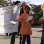Choucha Protest