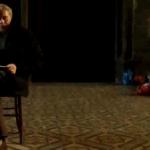 """Peter Waterhouse im Rahmen von """"Solidarisch Schlafen"""" in der Votivkirche"""
