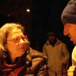 Susanne Scholl verbrachte eine Nacht bei den Refugees in der Votivkriche