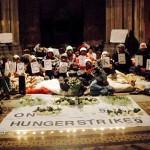 Hungerstreik Tag 9. Auf ein besseres 2013!