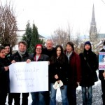 Solidarischer Gruß aus Linz