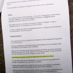 Caritas-Hausordnung im Servitenkloster, Seite 2