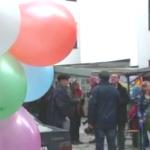 Szene beim Nachbarschaftsfest am 16.3.2013