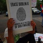"""""""Hände weg von unseren Fingerabdrücken!"""" – Protest zum Tag des Paneuropäischen Picknicks"""