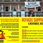 Refugee Support Day: Monday, 4/11/2013
