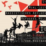 Demo gegen Asylgesetz 06.03.2015 / NO to Plans of the Minister for Interior Affairs to Tighten the Asylum Law!